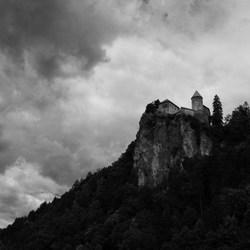 Kasteel in Bled