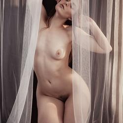behind veils
