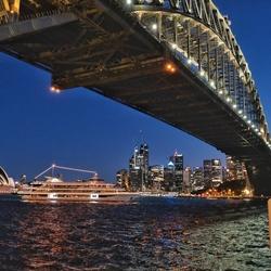 Zonsondergang in Sydney