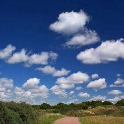 Wolken als katoen