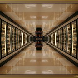 Diepte supermarkt