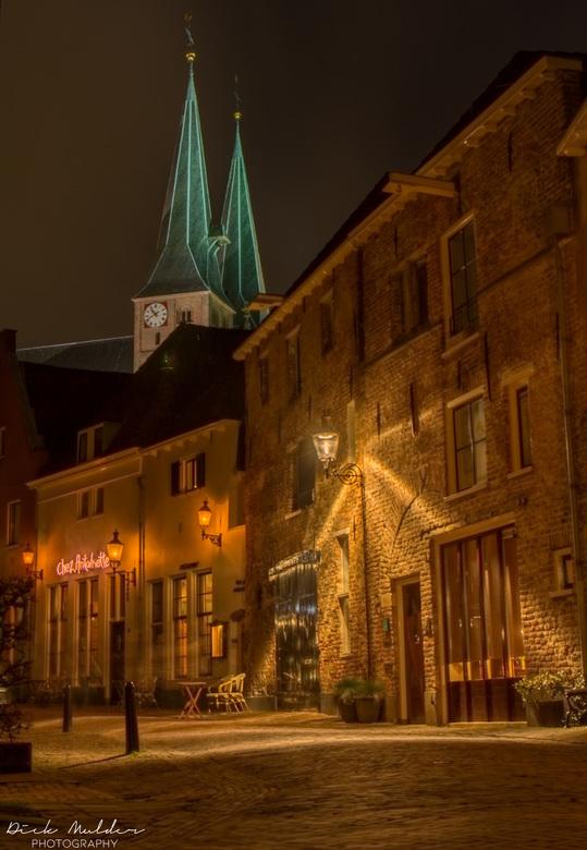 Deventer (Roggestraat) - HDR foto van de Roggestraat in Deventer