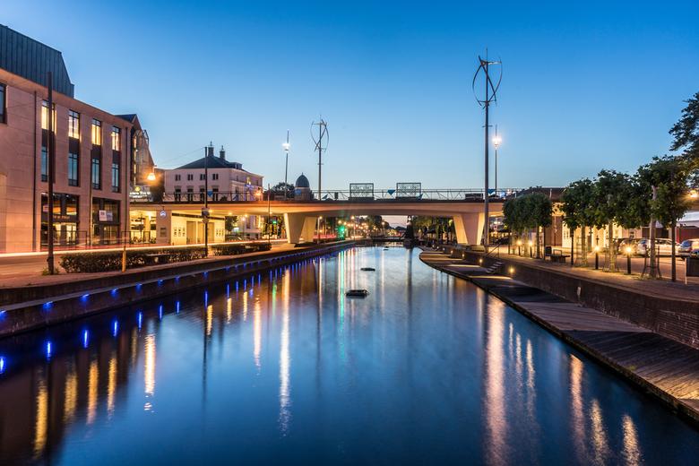 Helmond @ Blue Hour - Stukje Helmond tijdens het blauw uurtje