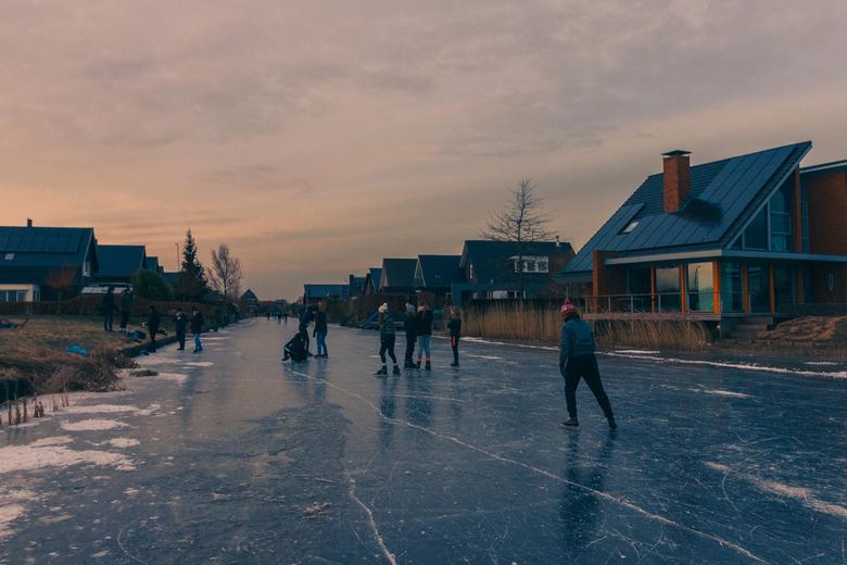 Schaatsen op het ijs