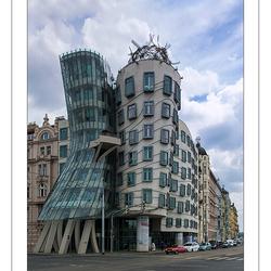 Fred en Ginger gebouw Praag