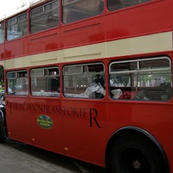 THE LONDON TRANSPORTER DUBBELDEKS