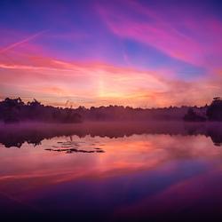 zonsopkomst oisterwijkse vennen 20-9-2019