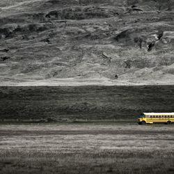 Iceland - Schoolbus