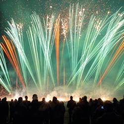Vuurwerk show