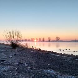 Sunrise Bergse Maas