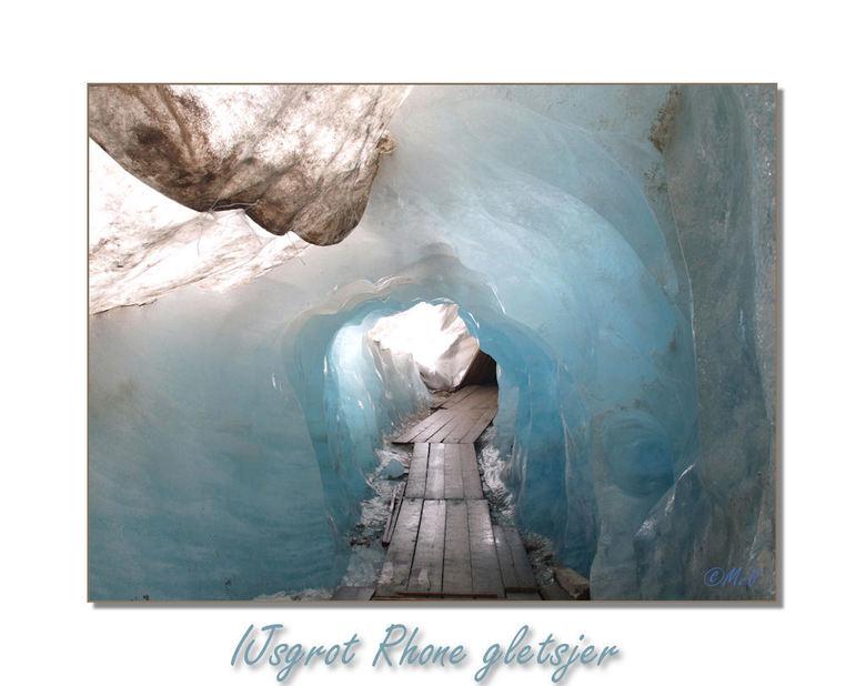 IJsgrot Rhone gletsjer