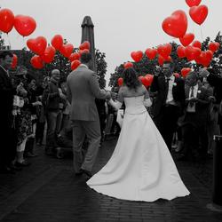 Liefde hangt in de lucht