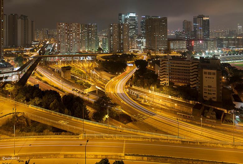Hong Kong. - Verkeer.