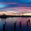 zonsondergang Calandkanaal