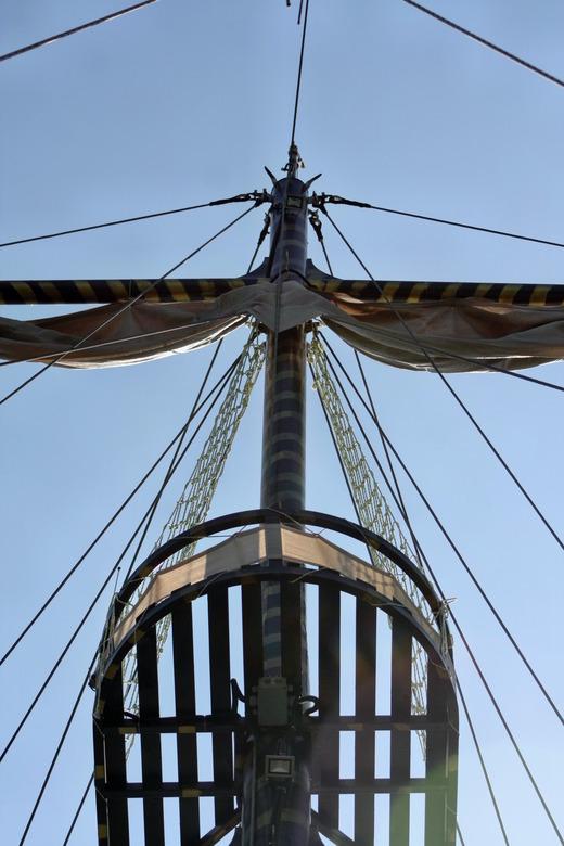is het een libelle..of de mast van een schip -