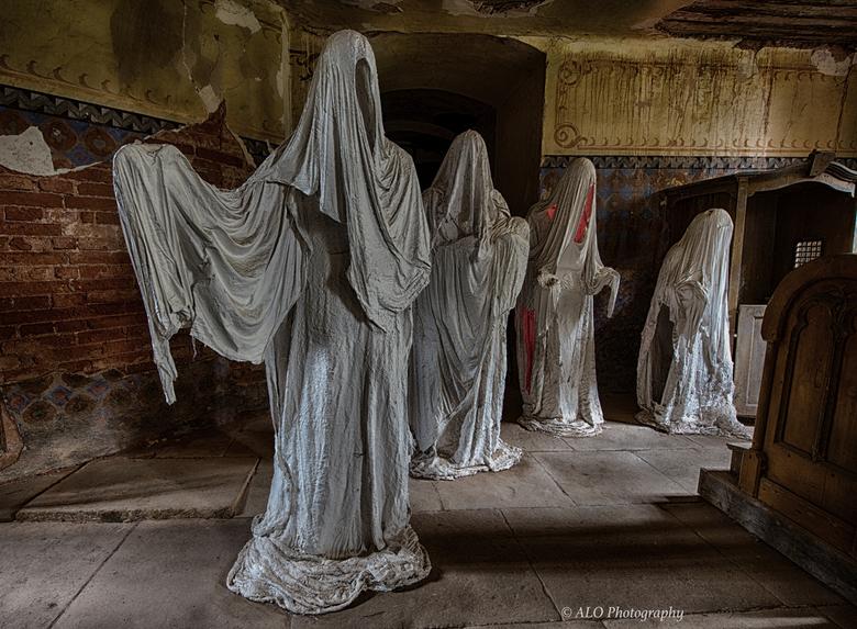 Nog een foto uit the Church of ghosts -