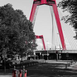 De rode brug