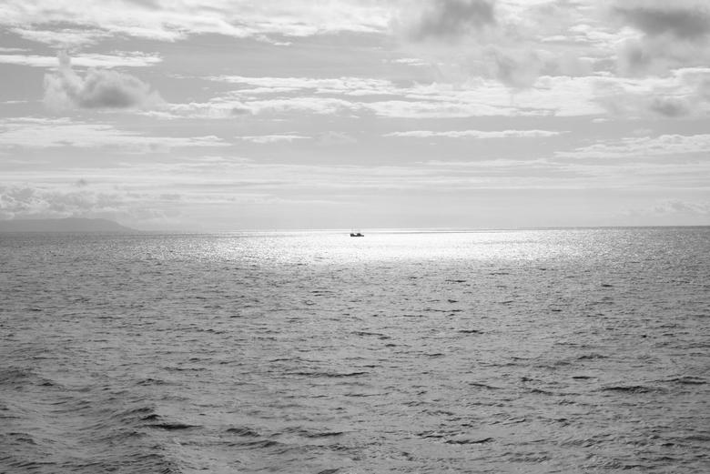 Loch Fyne - Loch Fyne voor de kust van Isle of Islay (Schotland).