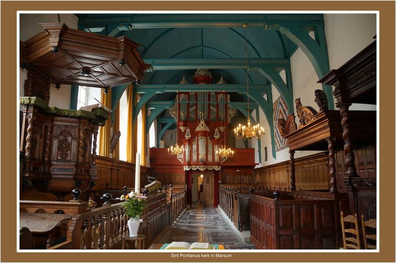 Kerk Marsum - Fryslan staat dit jaar bol van de aktiviteiten. Ook dit jaar is er weer het Tsjerkepaad, (kerkenpad). Veel kerken in de provincie zijn i
