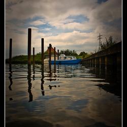 Blauw Biesboschbootje