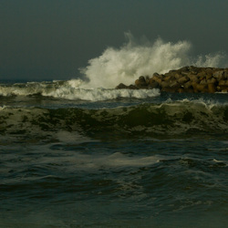 Espinho beach