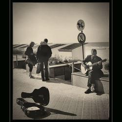 straat muzikant