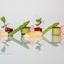 langoustine met rode biet en groene asperge en pulled chicken