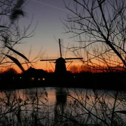 Molen bij Leiden Merewijk