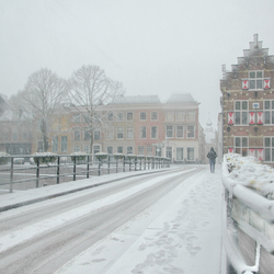 In den Blowen Hoet in den schneeuw
