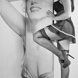 Serena en Marilyn