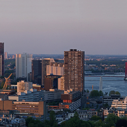 panorama skyline Rotterdam