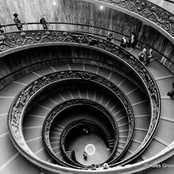 Staircase, Vatican, Rome, Italy