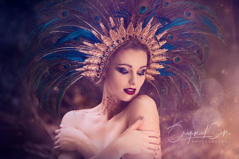 Beauty - Photographer: Original Cin Photography<br /> Model: Marleen Bas Tīaan Net<br /> Muah: Kaja Dobroń<br /> Headpiece: Pioro Blue<br /> Dress