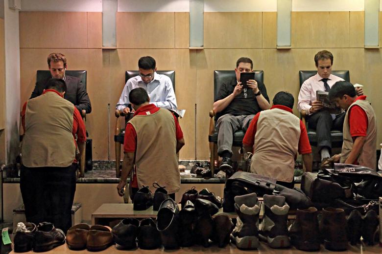 """New York 68 - Rockefeller Center.<br /> Nog voldoende schoenen te gaan <img  src=""""/images/smileys/wilt.png""""/><br /> <br /> Iedereen weer bedankt vo"""