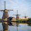 molens op Kinderdijk