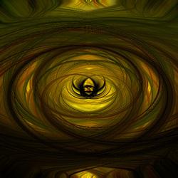 Golden twirl