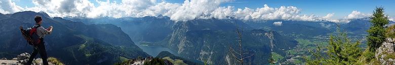 panoramma Jennergipfel - Deze panorama is met de smartphone gemaakt.<br /> <br /> Groet Roland