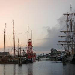Winter in Den Helder (code sunset)