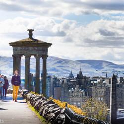 Uitzicht Calton Hill-Edinburgh