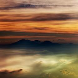 Vulkanisch Bali