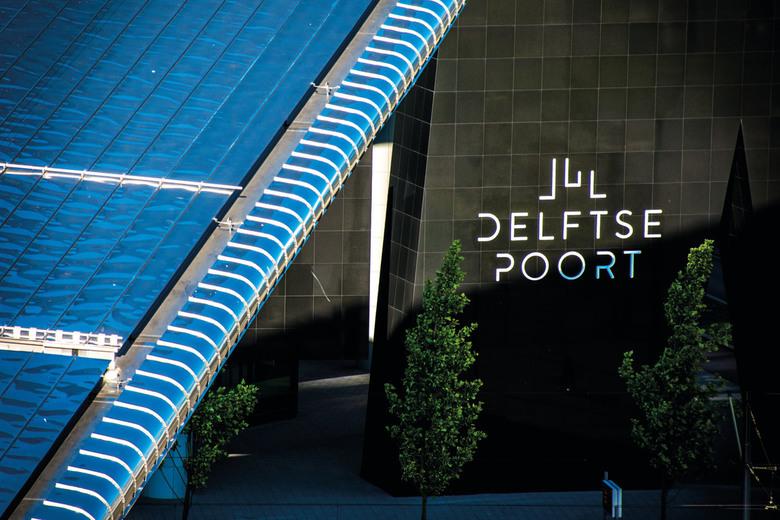 Delftse Poort - Centraal Station en Delftse Poort tijdens de Rotterdamse Dakendagen 2016