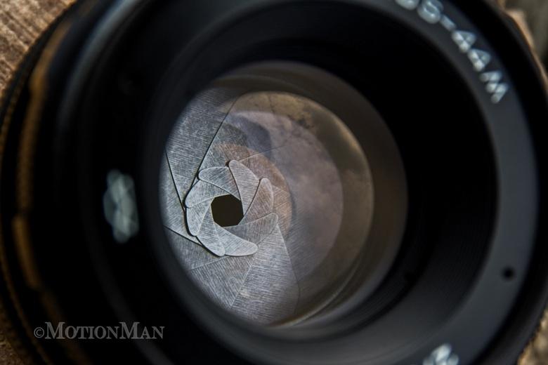 Zenit Helios 44M - Een macro shot van een van mijn Helios 44M objectieven. Een mooi objectief die ik een paar jaar geleden van marktplaats heb gehaald