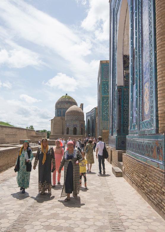 Samarkand (Oezbekistan) - Shah i Zinda - Samarkand (Oezbekistan) - Shah i Zinda