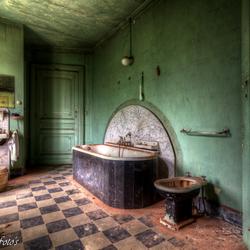 Ouderwets badkamertje