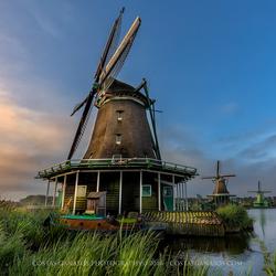 The windmills of Zaanse Schans