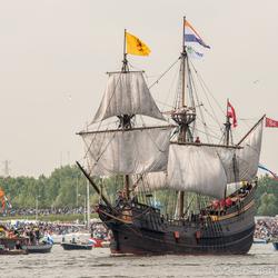 Sail 2015-3 VOC schip Halve Maen