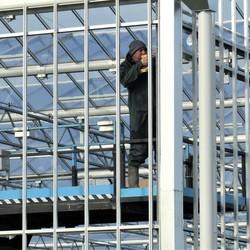 P1130463 Warenhuis in aanbouw nr2 Detail 3 nov 2020