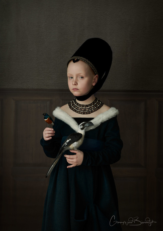 Ciske - 'Painting of a young girl' by Petrus Christus
