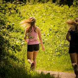 Run to hair