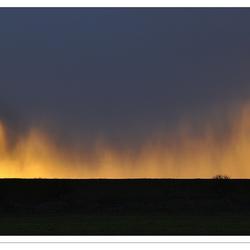 Spektakel: De zon gaat onder langs het Lauwersmeer - 1#4